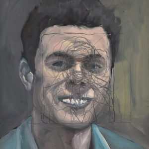 Self-portrait, oil on canvas, 60 x 48 cm, 2011