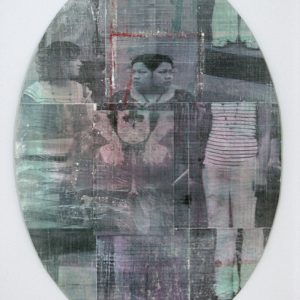 Janus Head, mixed media on paper, dimensions variable, 2010