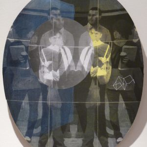 Refraction, photocopy, duct tape and paper, 38 x 28 cm, 2010