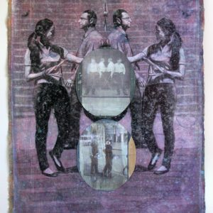 Selfveillance, mixed media on paper, 116 x 86 cm, 2010