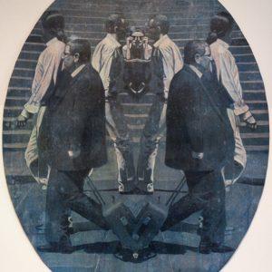Technovision, mixed media on paper, 134 x 104 cm, 2010