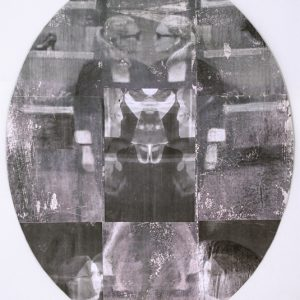 Woman, mixed media on paper, dimensions variable, 2010